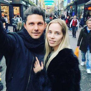 Linn Renee Sivertsen and Sean Dubravac